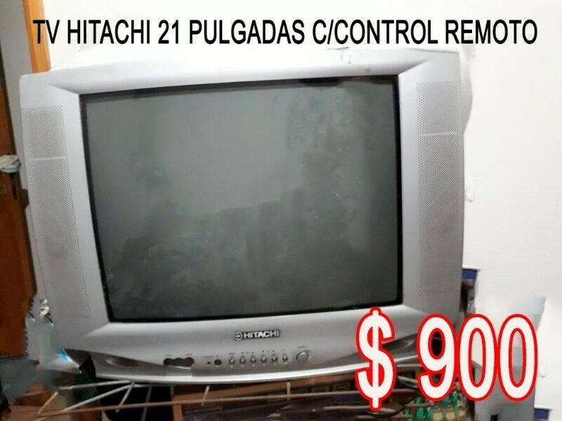 Vendo Tv Hitachi 21´