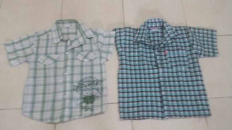 Vendo camisas niño talle 8, excelente estado!