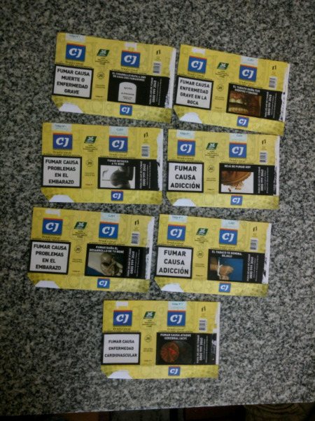 Vendo lore de 7 marquillas diferentes CJ
