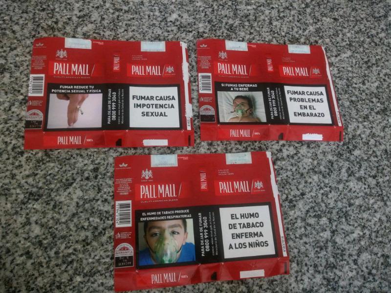 Vendo lote de 3 marquillas diferentes argentinas en perfecto