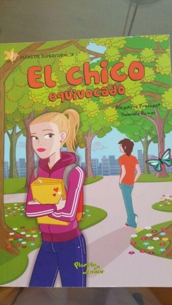 Libro El Chico Equivocado. Planeta Junior