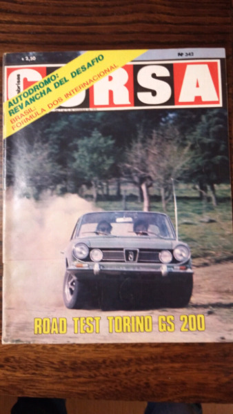 Revista corsa road test Torino 200 GS