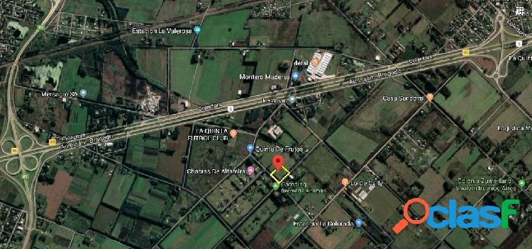 Venta de chacras en Altamira de 12000 m2