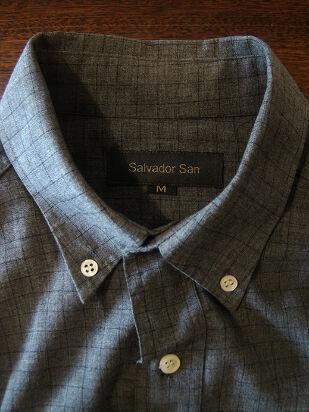 camisa salvador san gris (talle m)