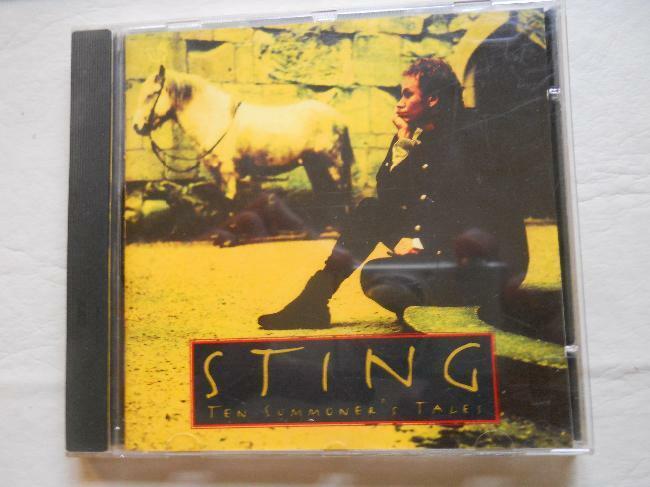 sting cd ten summoner´s tales cd importado original!