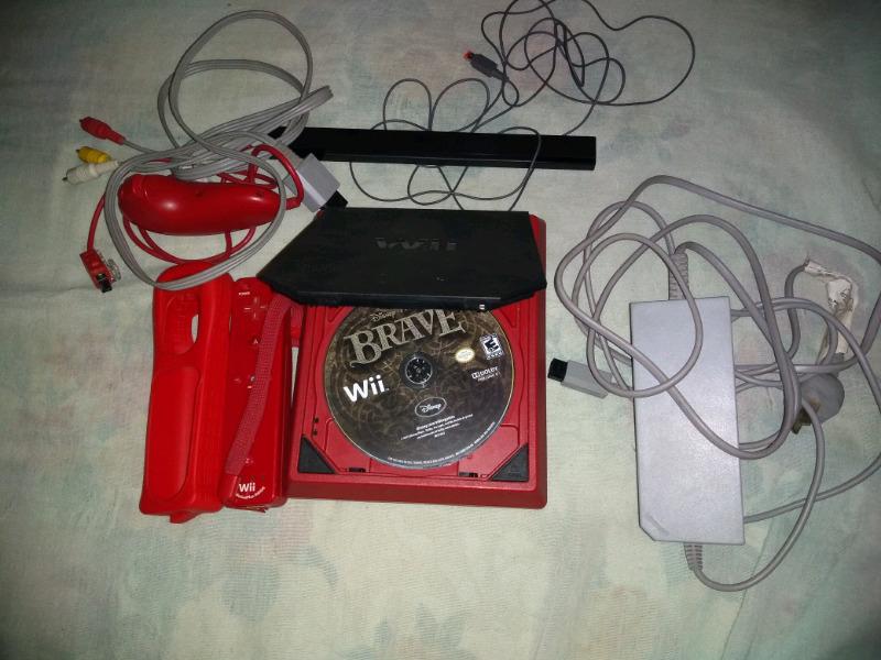 Nintendo mini Wii roja