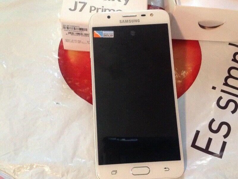 Samsung J7 PRIME 32GB, Dorado, nuevo en caja nunca usado
