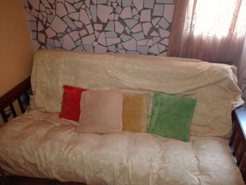 Vendo sillon cama de 2 plazas y media