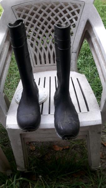 Botas de lluvia número 40