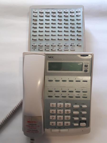 Central Telefonica Nec 7 Lineas 30 Internos mas telefonos