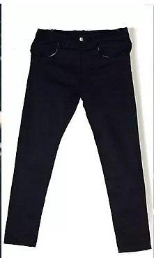 Jean de gabardina negro talle 44