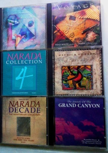 12 CD'S COLECCIÓN NARADA IDEAL COLECCIONISTAS