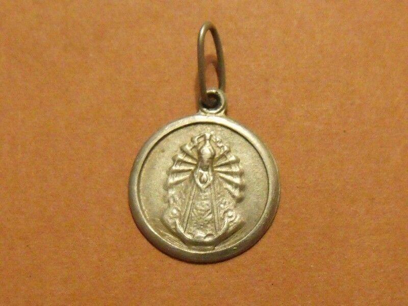 Medalla Dije Virgen de Luján - Plata
