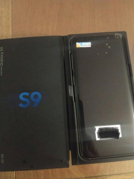 Vendo samsung s9 nuevo original nacional con factura de