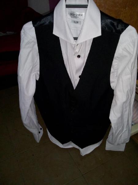 Camisa Y Chaleco de Hombre de Marca