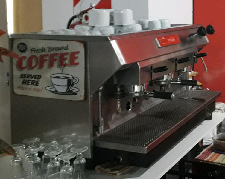 Maquina de cafe para bar