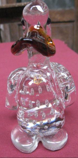 Pato de Cristal de Murano.