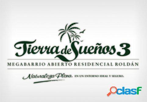 """VENTA LOTE/TERRENO BARRIO ABIERTO RESIDENCIAL """"TIERRA DE"""