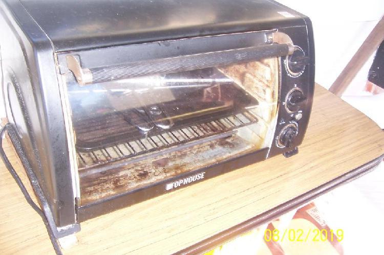 horno electrico con spiedo funcionando muy buen estado