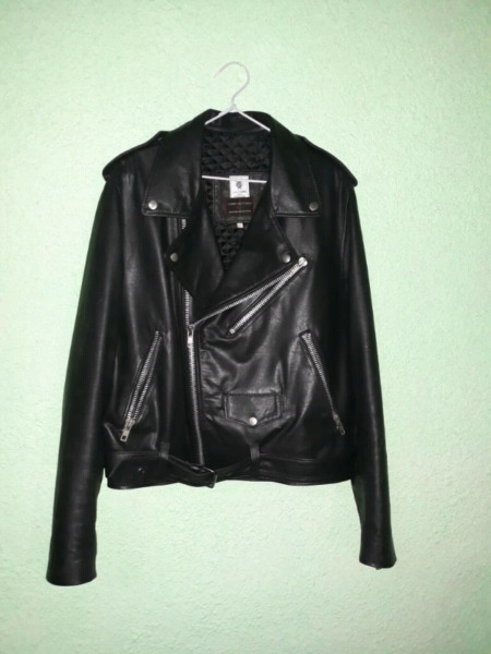 Campera de cuero Rock-Metal-Punk