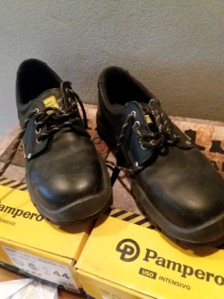 Zapatos de seguridad Pampero talle 44