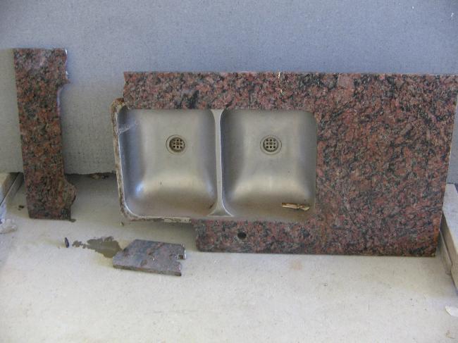 reparamos su mesada de marmol y granito natural - al mejor