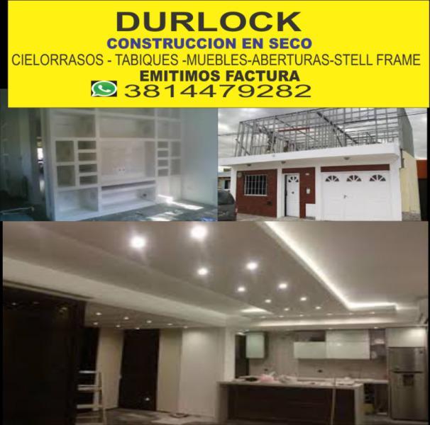 DURLOCK CONSTRUCCION EN SECO TUCUMAN