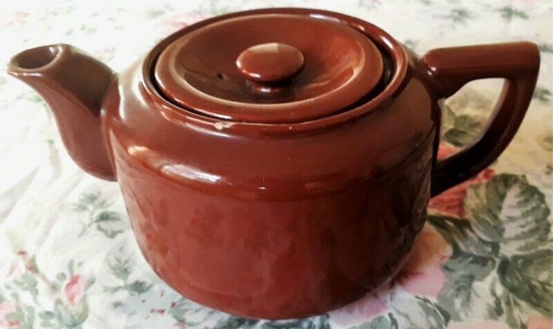 Tetera/lechera Ceramica Esmaltada Antigua