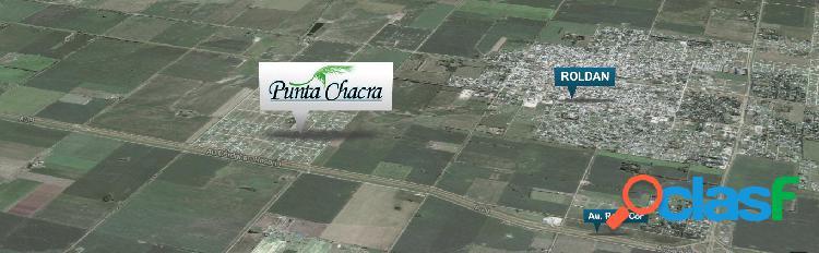 """TU LOTE EN ROLDÁN! BARRIO ABIERTO """"PUNTA CHACRA"""""""