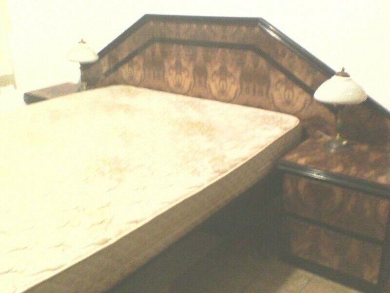 Vendo juego de dormitorio de 2 plazas usado en excelente