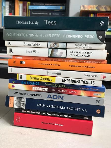 Lote de 14 Libros en Muy Buen Estado