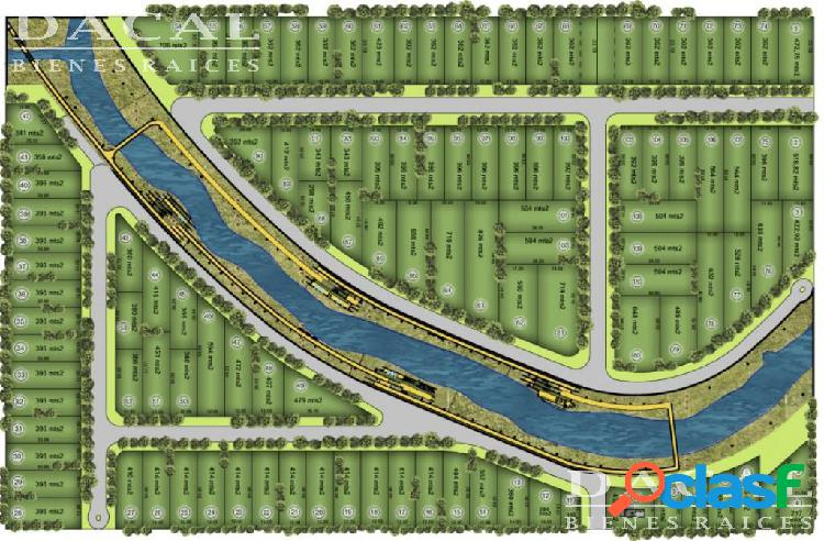 Lote en Venta City Bell Barrio El Cauce 133 y 477