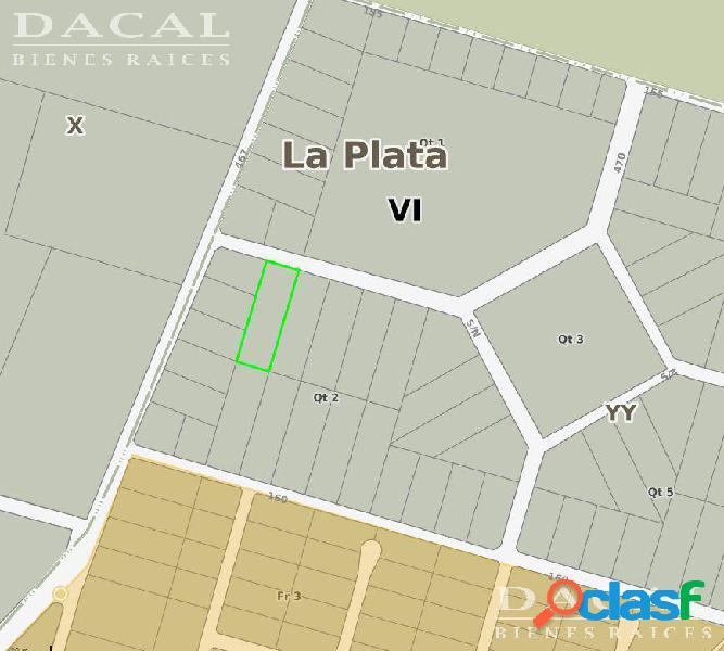 Terreno en Venta en City Bell Calle 467 y 158 Dacal BIenes