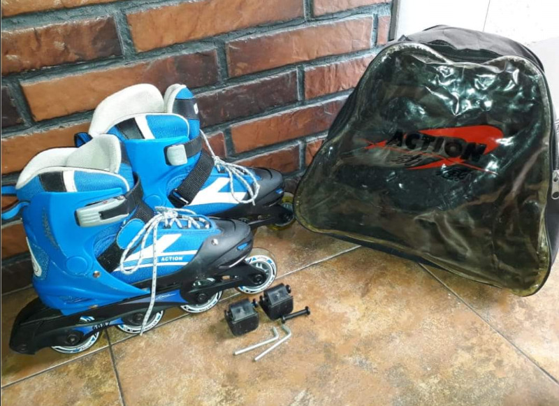 Vendo rollers action sport