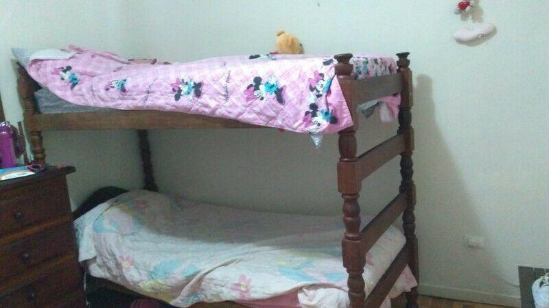 cama cucheta o marinera de algarrobo