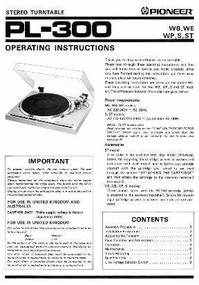 manuales de usuario de bandejas tocadiscos -- AUDIOMAX