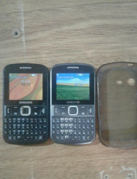 vendo dos Samsung chat 222