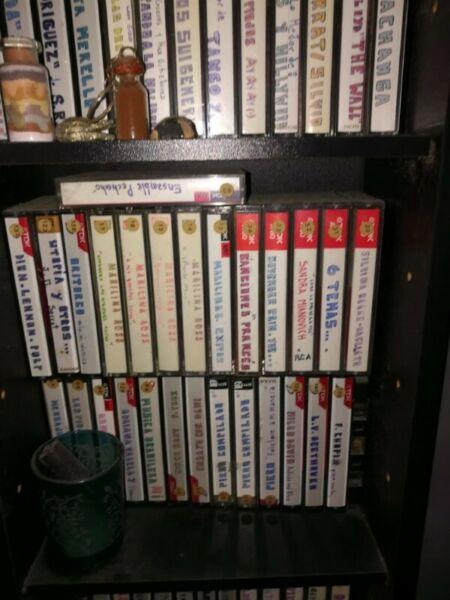 Lote De Cassettes Usafos Para Decoracion O Arte Con Cajas