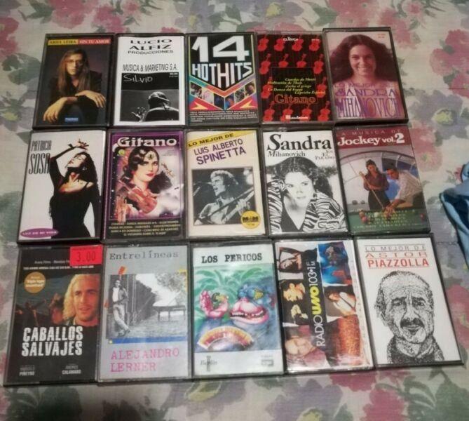 Lote de cassettes originales 66 en total