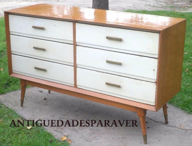 Oportunidad muy buena cómoda de diseño retro vintage