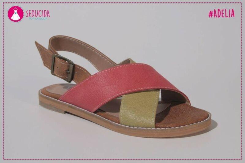 Sandalias d cuero
