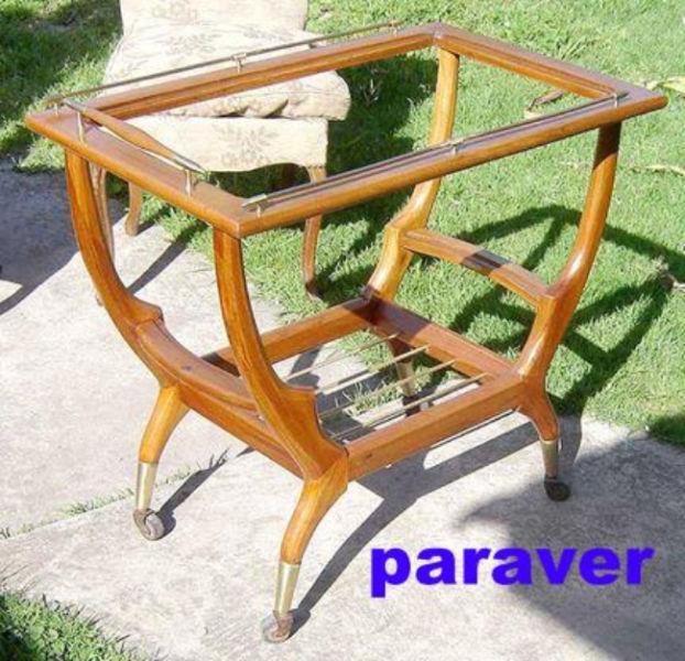 mesa bar ratona escandinava diseño retro vintage 60s