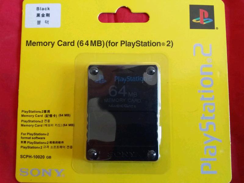 Memory Card Memoria 64 Mb Ps2 Play 2 Sony Original
