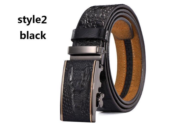 Cinturon De Cuero Autentico Destiny Para Hombre Marron