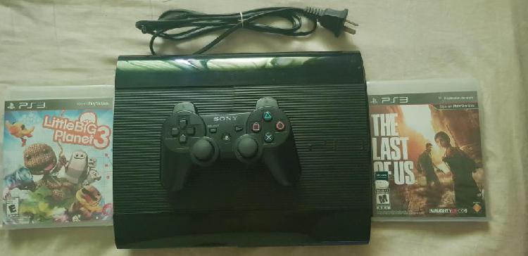 Ps3 250gb 1 joystick juegos digitales y 2 juegos fisicos