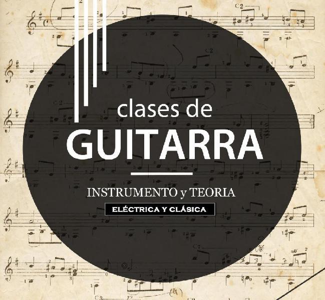 Clases de Guitarra Eléctrica y Clásica