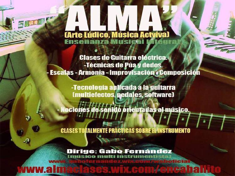 Clases de Guitarra en Caballito.