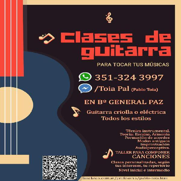 Clases de Guitarra en Córdoba