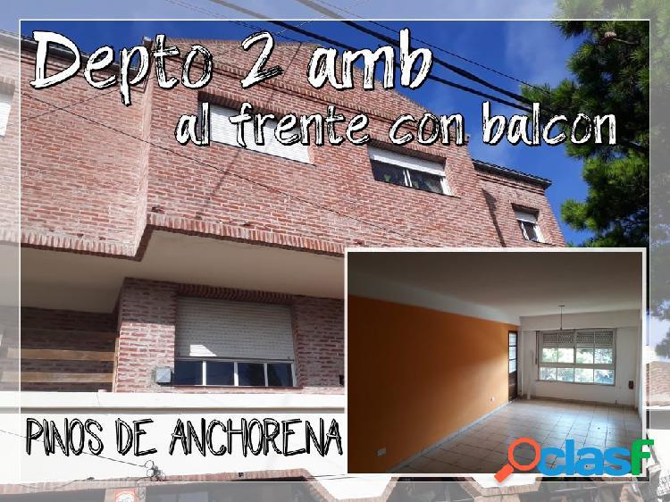 DEPARTAMENTOS 2 AMB AL FRENTE Y CONTRAFRENTE - OPCIONAL