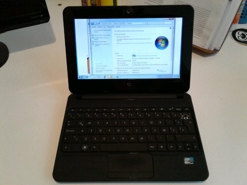 Netbook Compaq Mini Cq